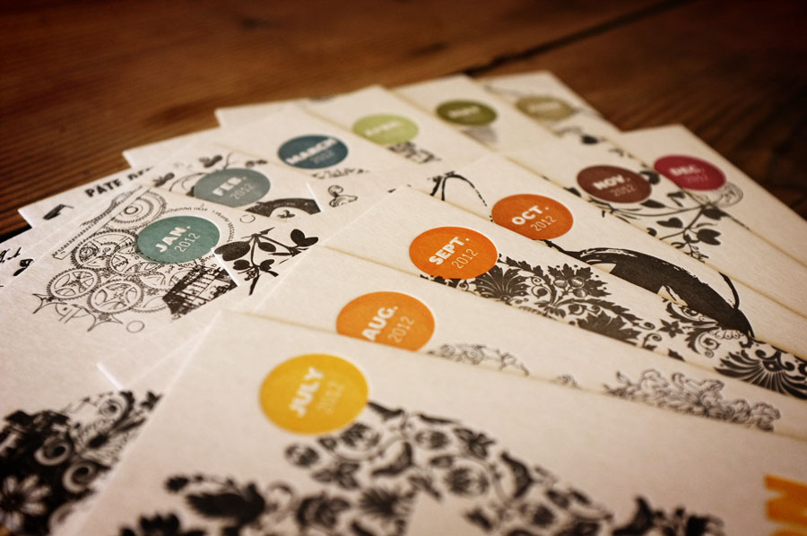 MrCup update / moving to Bali / Letterpress calendar special offer