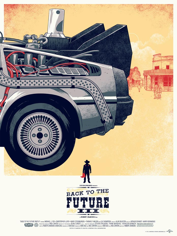 Back to the future by Phantom City Creative
