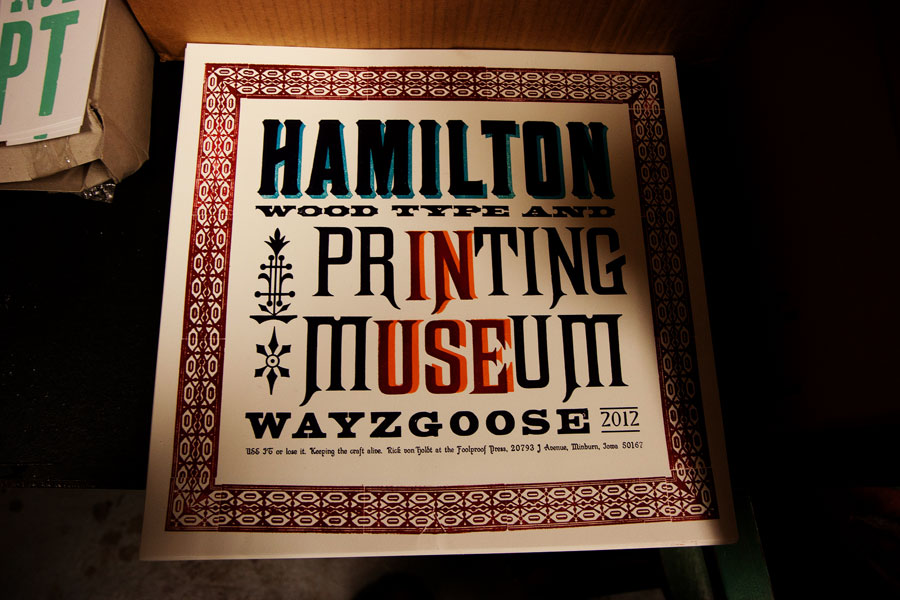 Hamilton Wood Type museum www.mr-cup.com
