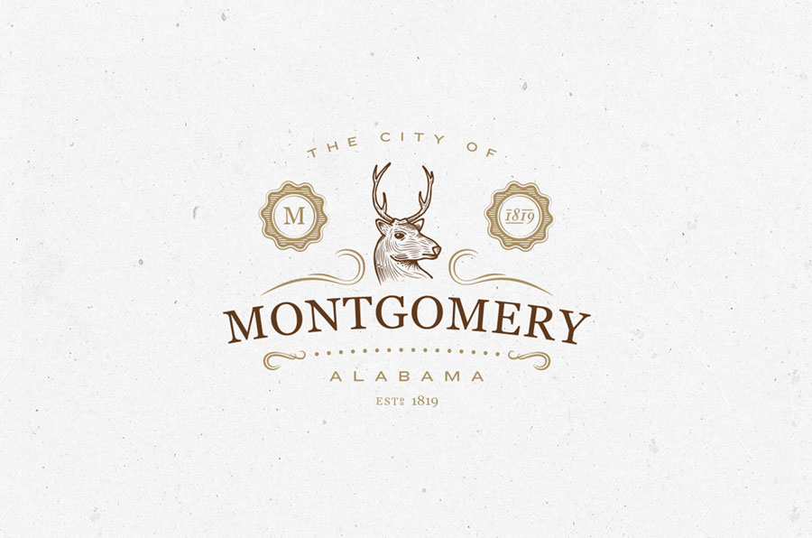 City of Montgomery . Alabama by John Wilson