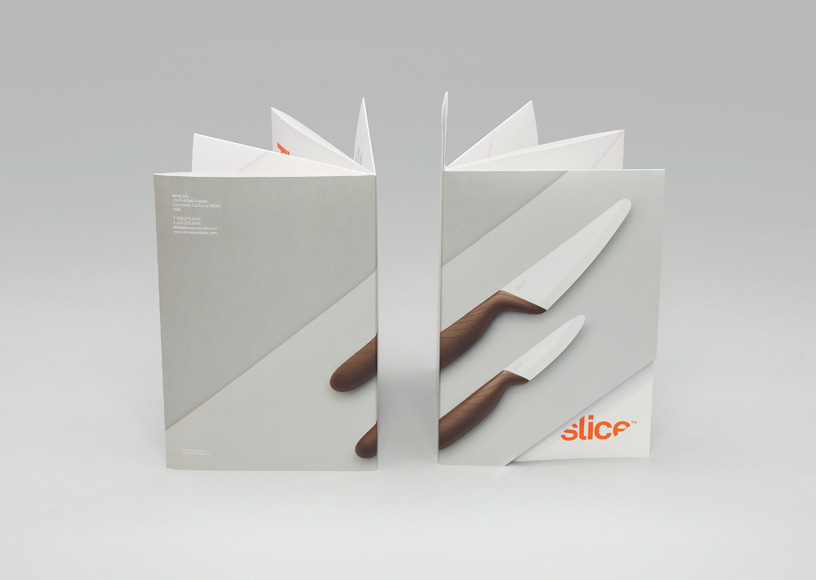 Manual Slice brochure cover