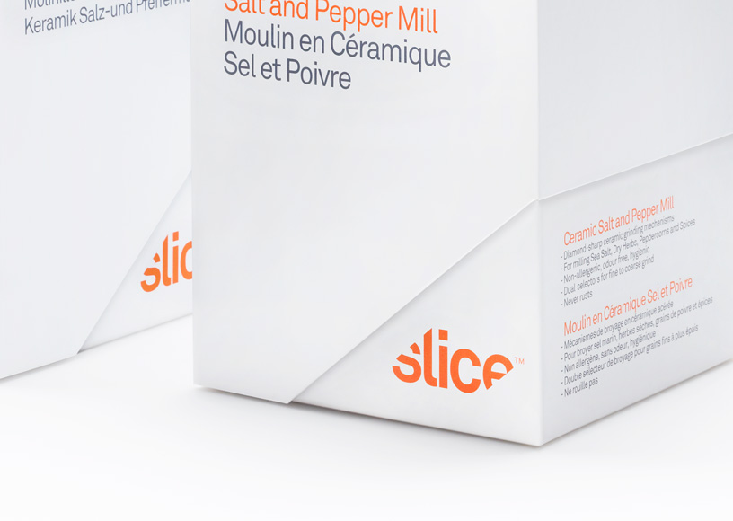 Manual Slice packaging detail