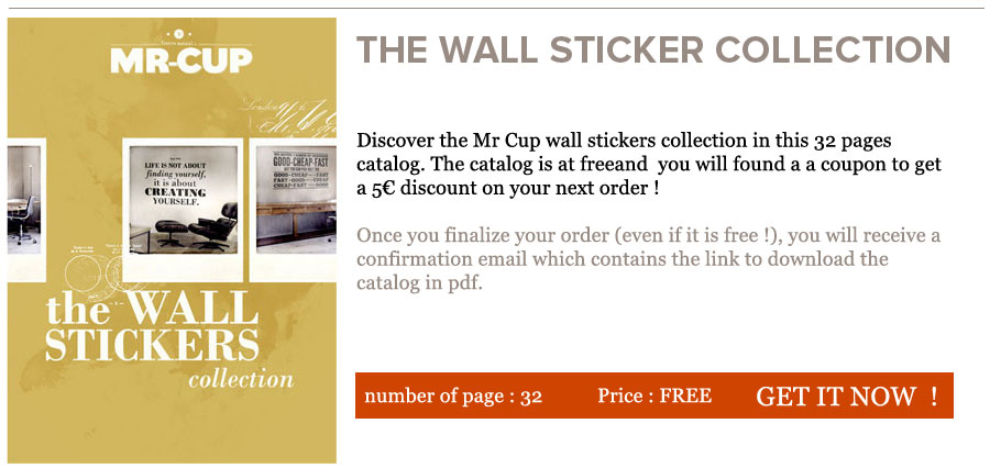 The Mr Cup Wall stickers collection ebook http://www.mr-cup.com/shop/e-books/mr-cup-wall-stickers-collection-detail.html