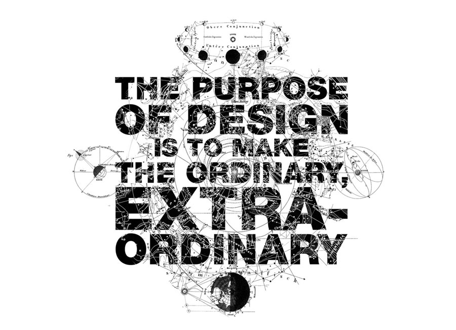 The purpose of design is to make the ordinary, extraordinary by www.mr-cup.com
