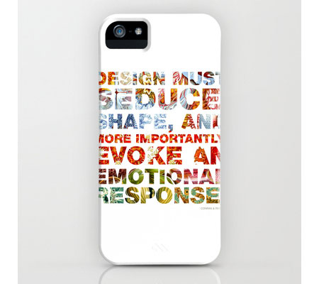 Design must seduce, shape and more more importantly, evoke an emotional response by www.mr-cup.com