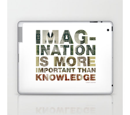 Imagination is more important than knowledge by www.mr-cup.com
