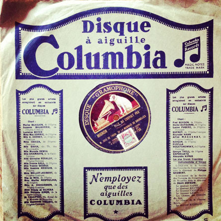 78rpm vintage records by www.mr-cup.com