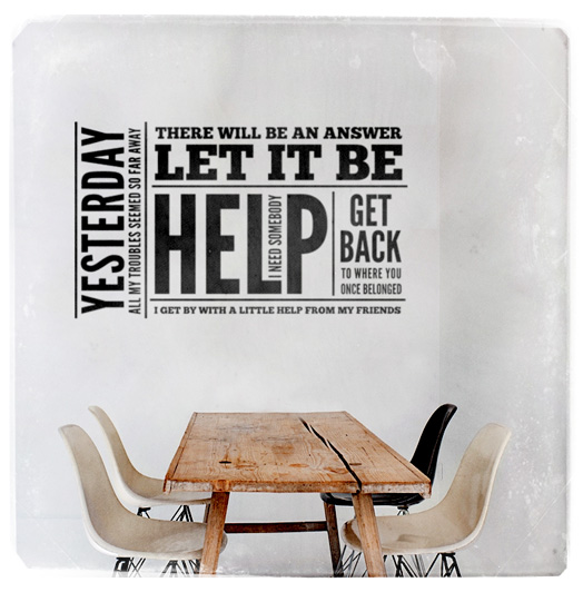 Help - wall sticker - www.mr-cup.com