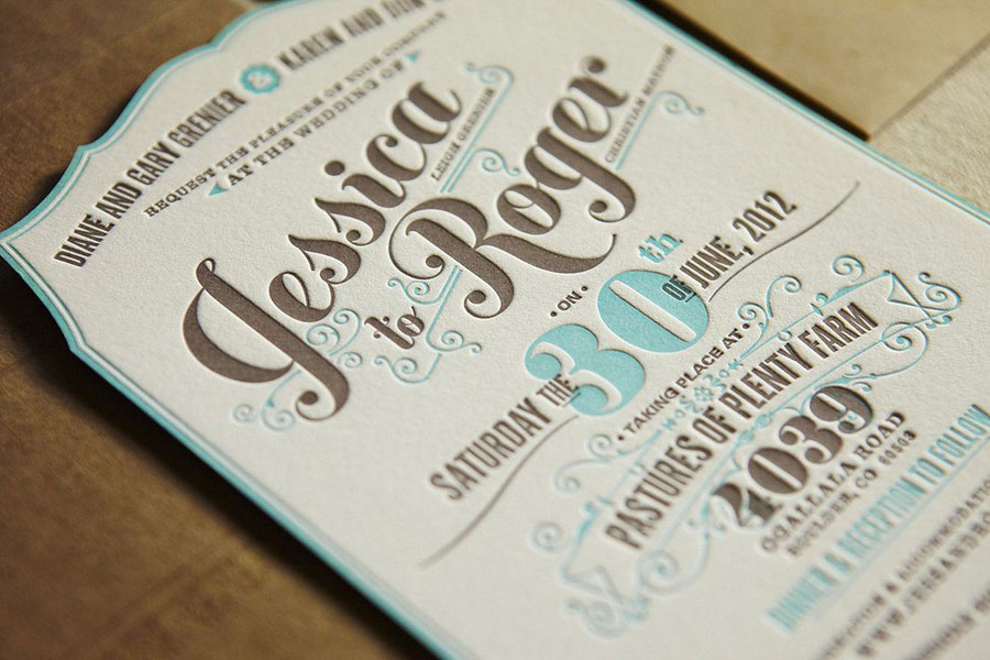 flourish letterpress www.mr-cup.com