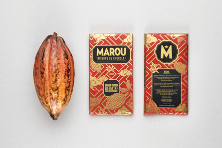 Marou Faiseurs de Chocolat by Rice Creative via www.mr-cup.com