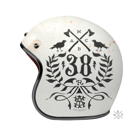 BMD design helmets via www.mr-cup.com