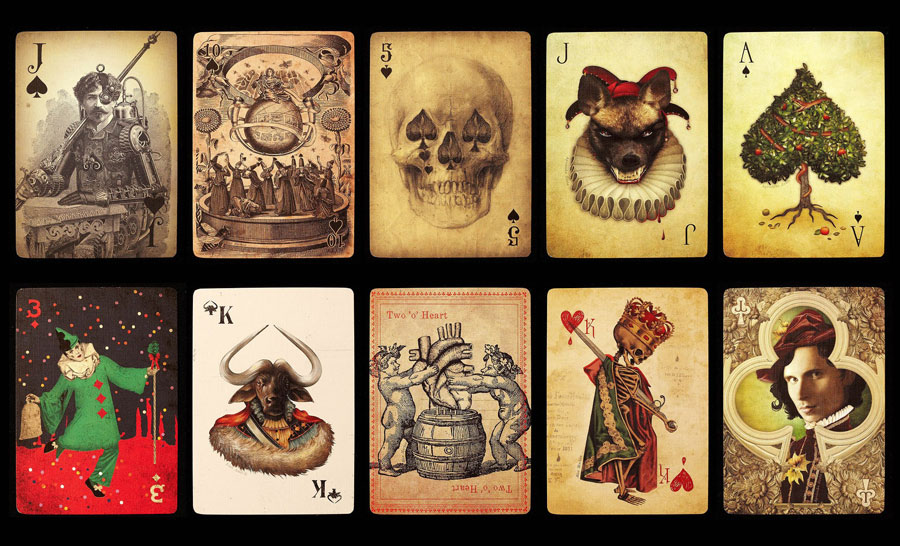 stranger and stranger ultimate deck cards via www.mr-cup.com