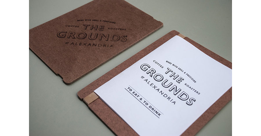 thegrounds coffee house Syndey Australia brand by Folke via www.mr-cup.com