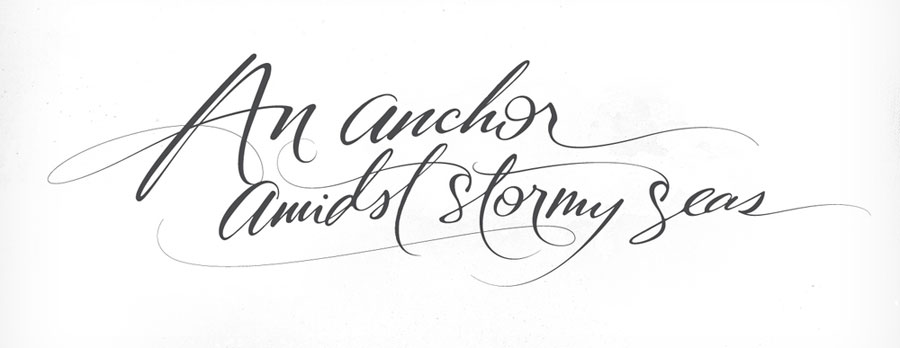 andy luce handwritting calligraphy www.mr-cup.com