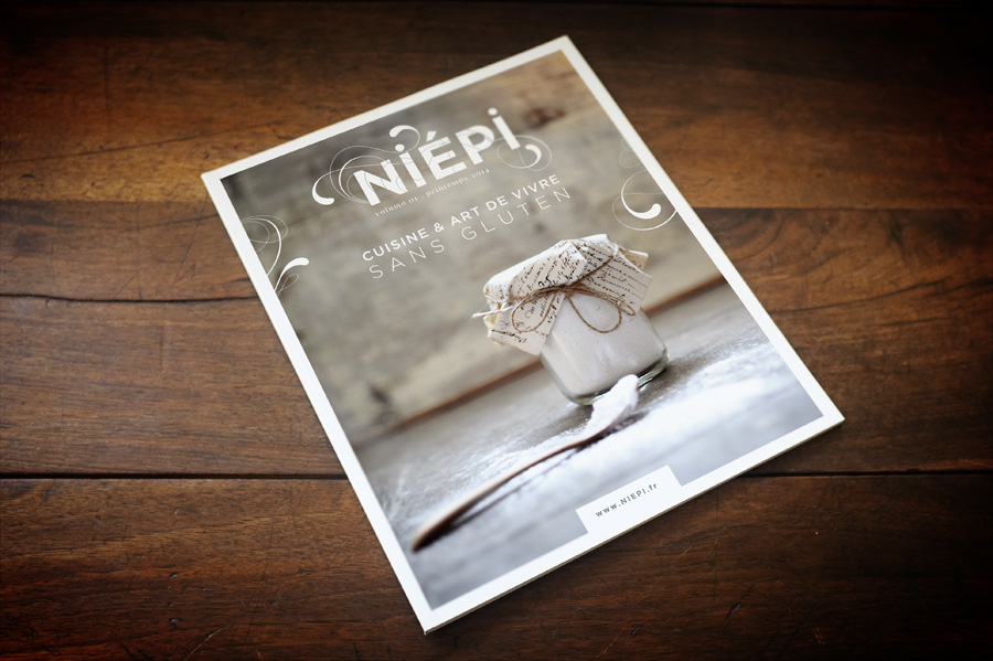 Niepi Gluten free magazine . cooking and way of life . www.niepi.fr