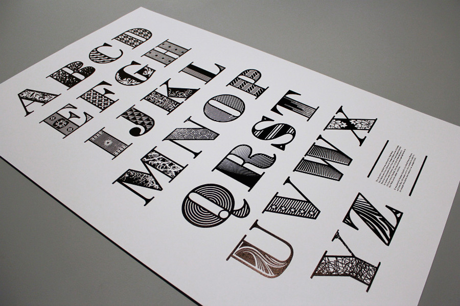 Decorative Bodoni via www.mr-cup.com