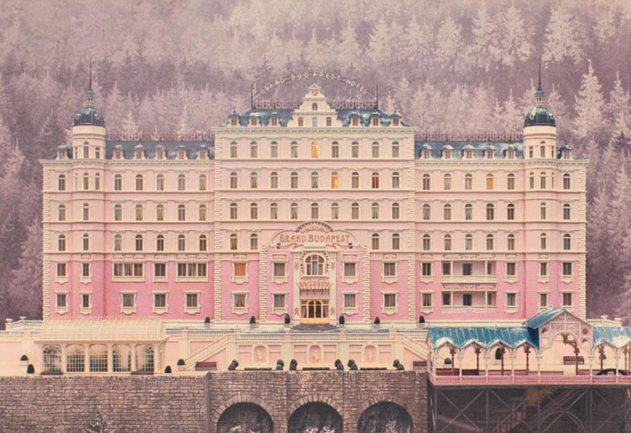 The Grand Budapest hotel graphics via www.mr-cup.com