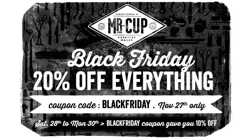 Mr Cup blackfriday