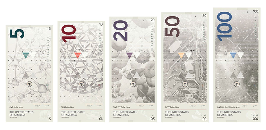 USA banknotes proposal via www.mr-cup.com