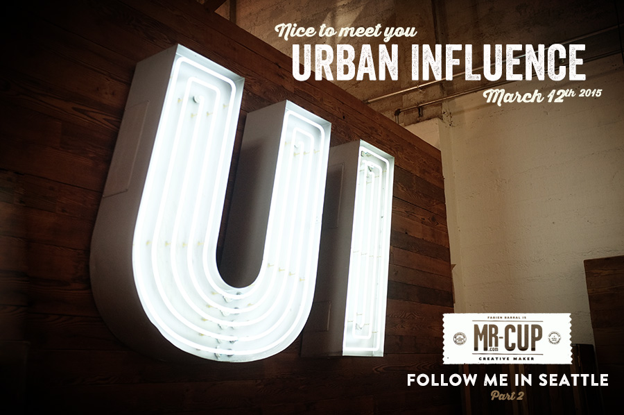 Nice to meet you urban influence by mr cup