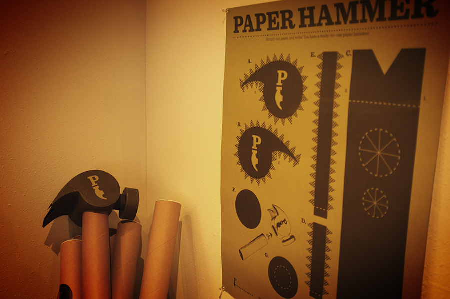 Nice ot meet you Paper Hammer www.mr-cup.com