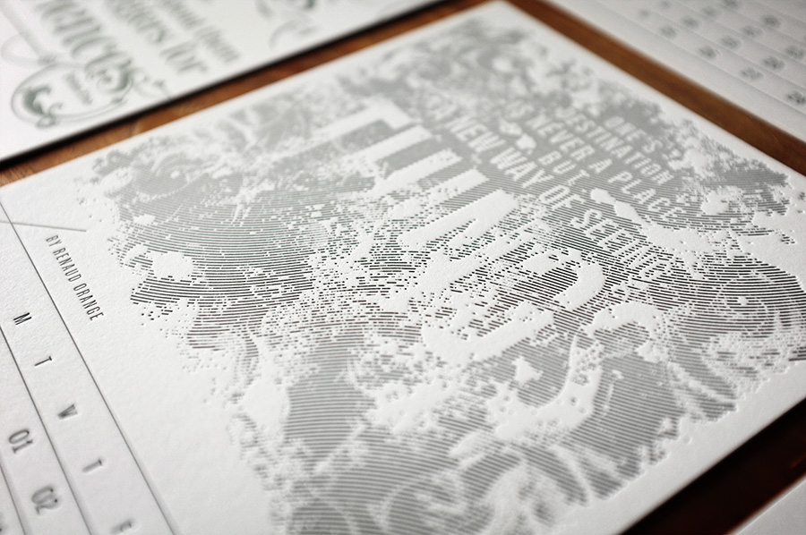 letterpress calendar by www.mr-cup.com