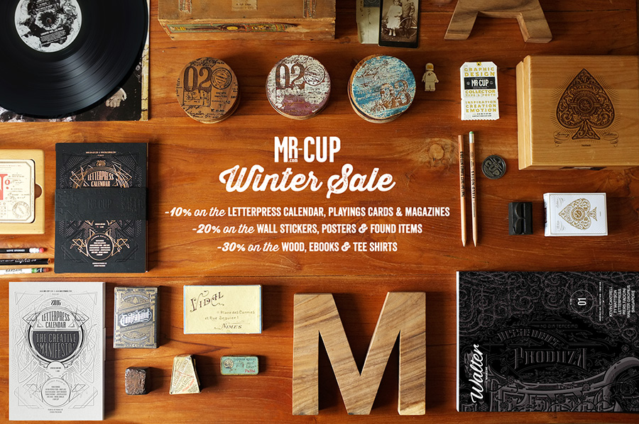 Winter sale at http://www.mr-cup.com/shop.html