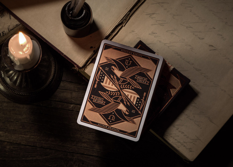 Union playing cards via www.mr-cup.com