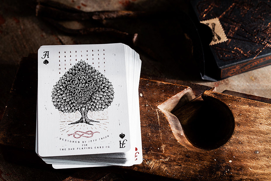 Sons of liberty playing cards Jeff Trish via www.mr-cup.com