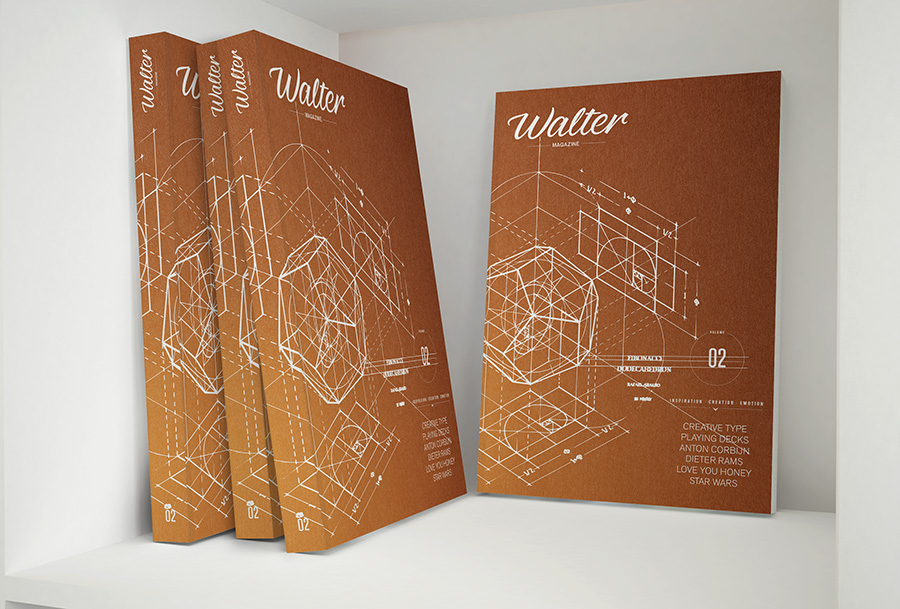 Walter magazine by www.mr-cup.com