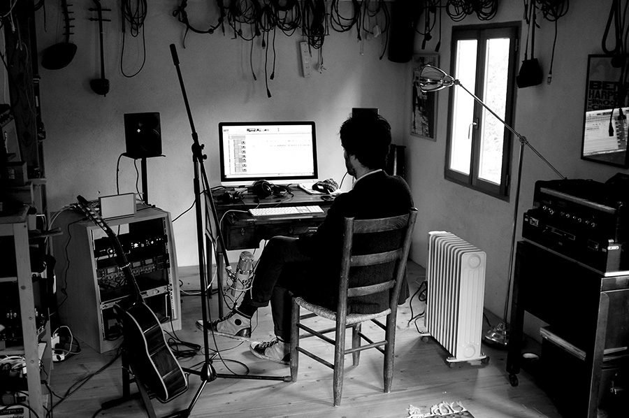 Piers Faccini I dreamed an island recording session by www.mr-cup.com