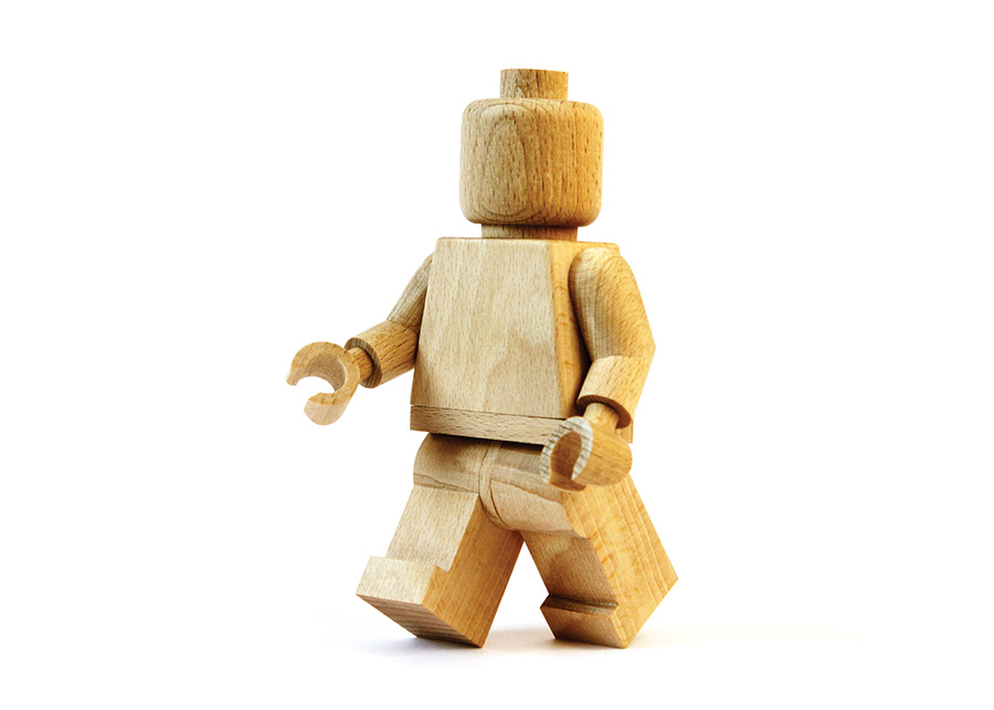 lego wood by Thibaut Malet via Mr Cup