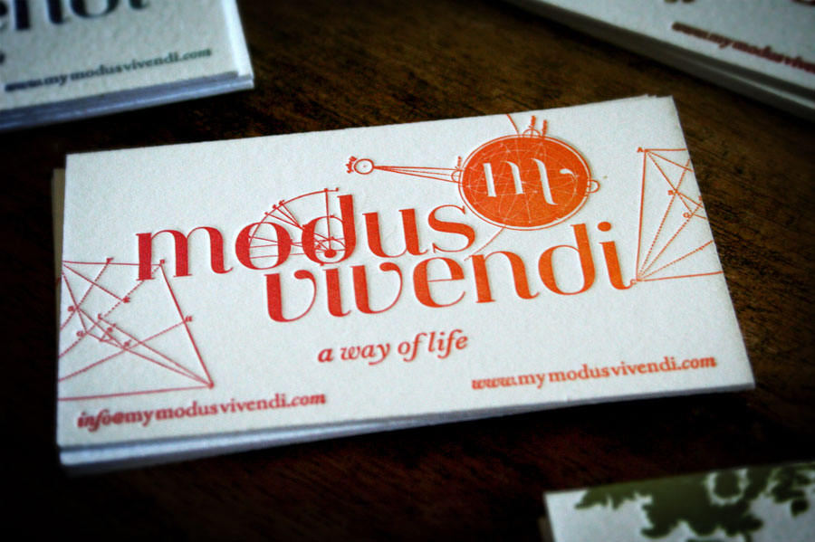 Modus Vivendi identity by Mr CUP
