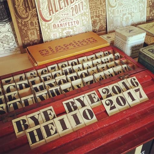 Bye Bye 2016 / Hello 2017