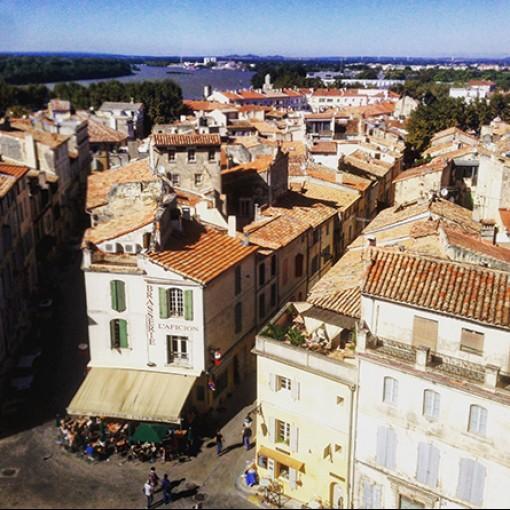 Living in Arles and meeting Salih Kucukaga