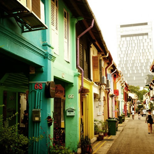 Shopping in Haji Lane - Singapore