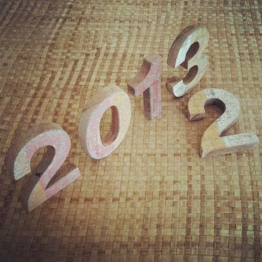 Bye bye 2012, hello 2013 !